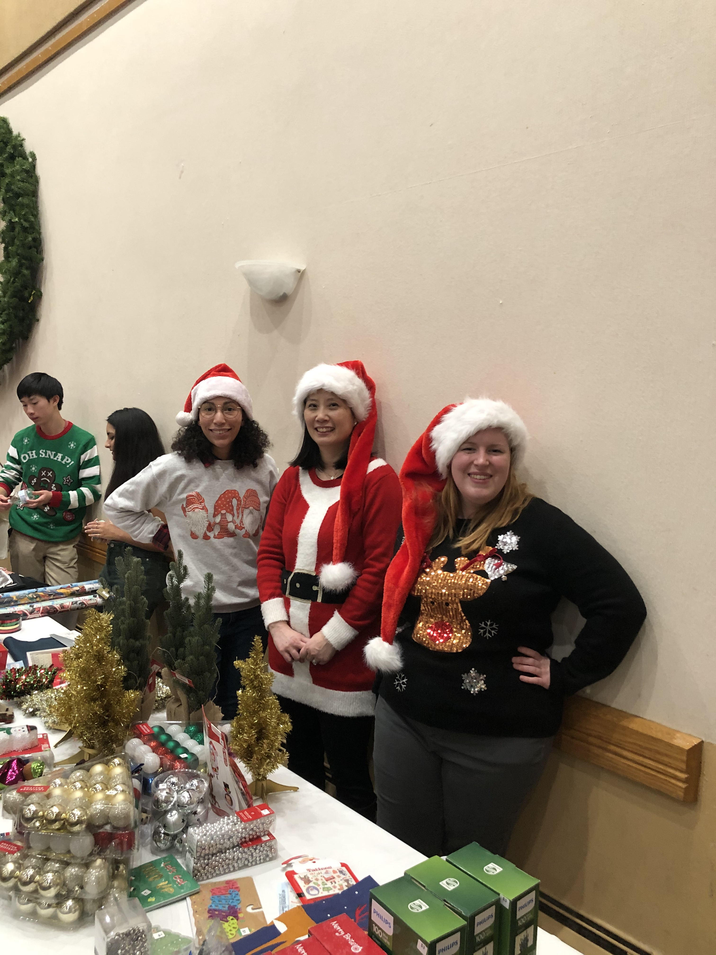 HousingFamilies Holiday party